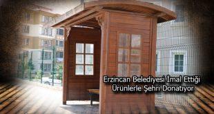 Erzincan Belediyesi İmal Ettiği Ürünlerle Şehri Donatıyor